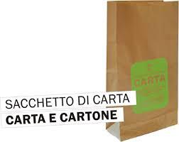 sacchetto carta e cartone